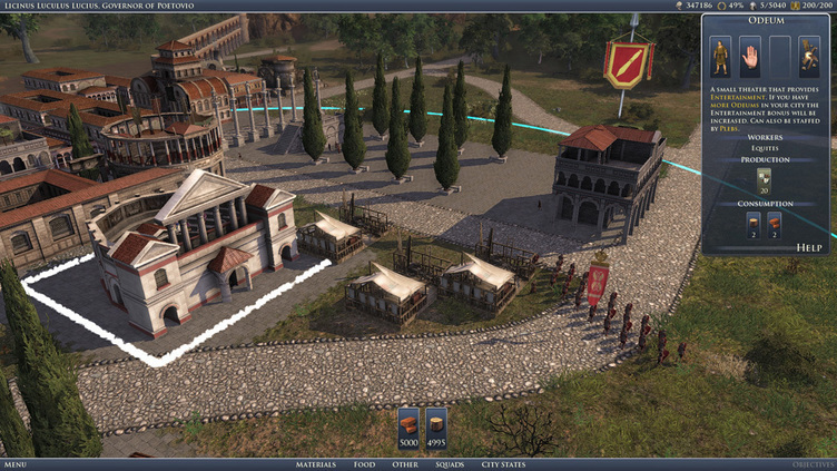 GRAND AGES: ROME GOLD Screenshot 1