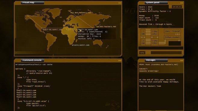 Hacker Evolution Screenshot 1