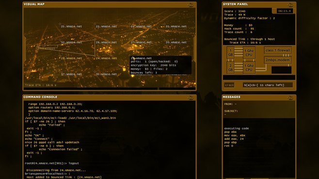 Hacker Evolution Screenshot 5