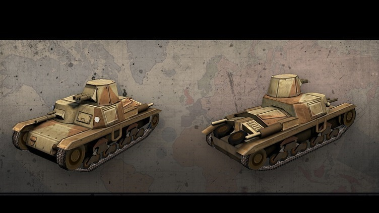 Hearts of Iron III: Italian Vehicle Pack Screenshot 4