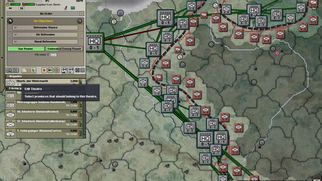 Hearts of Iron III: Semper Fi Screenshot 1