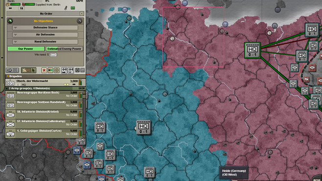 Hearts of Iron III: Semper Fi Screenshot 2