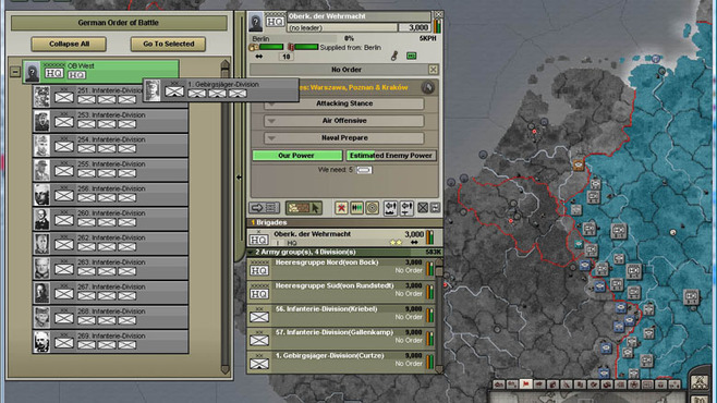 Hearts of Iron III: Semper Fi Screenshot 4