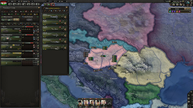 Hearts of Iron IV: Death or Dishonor Screenshot 4