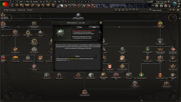 Hearts of Iron IV - La Résistance Screenshot 1