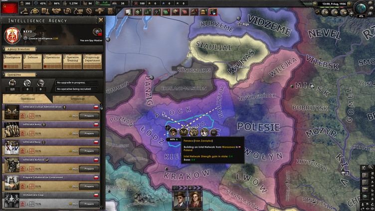 Hearts of Iron IV - La Résistance Screenshot 4