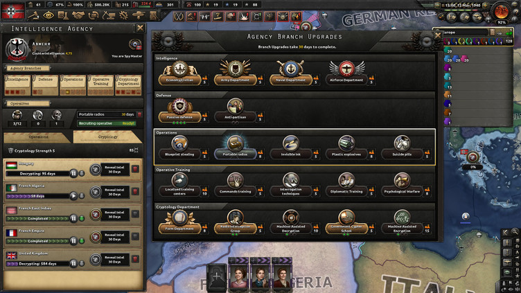 Hearts of Iron IV - La Résistance Screenshot 5