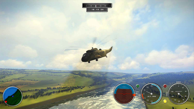 Helicopter Simulator 2014: Search and Rescue Screenshot 1