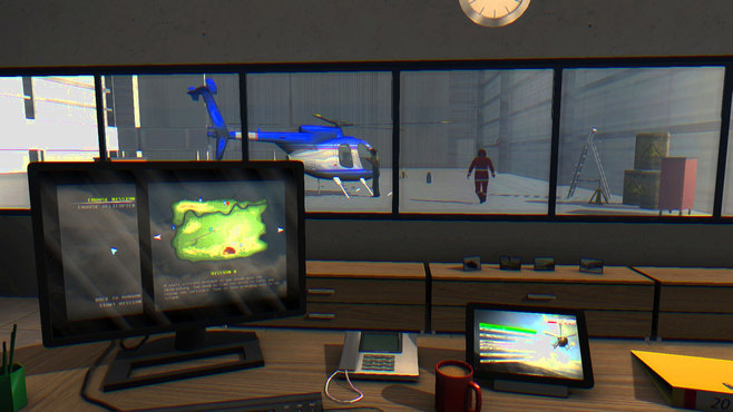 Helicopter Simulator 2014: Search and Rescue Screenshot 2