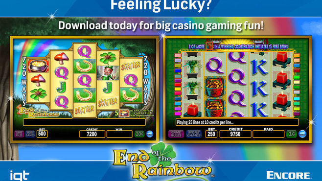 IGT Slots End of the Rainbow 8-Pack Screenshot 4