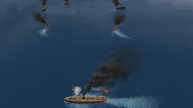 Ironclads 2: Caroline Islands War 1885 Screenshot 1