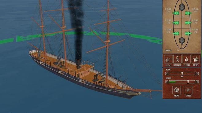 Ironclads: American Civil War Screenshot 1