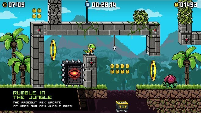 JumpJet Rex Screenshot 2