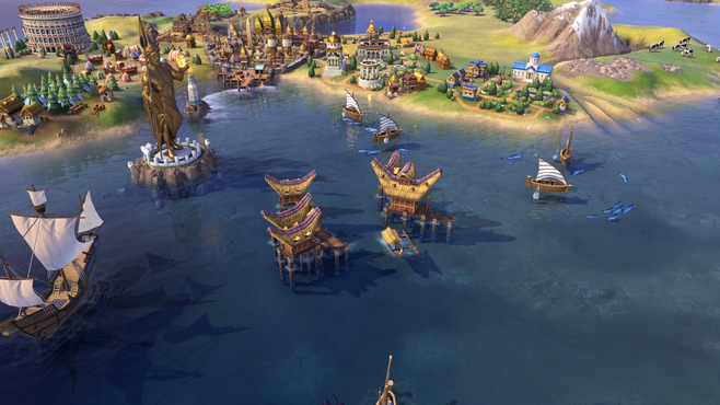 Sid Meier's Civilization® VI - Khmer and Indonesia Civilization & Scenario Pack Screenshot 3
