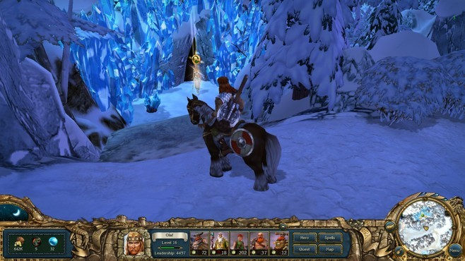 King's Bounty: Warriors of the North Screenshot 2
