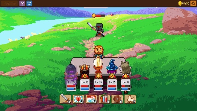 Knights of Pen and Paper 2 - Here Be Dragons Screenshot 5