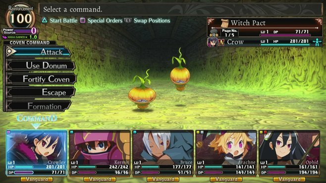 Labyrinth of Refrain: Coven of Dusk - Meel's Best Bell Screenshot 1