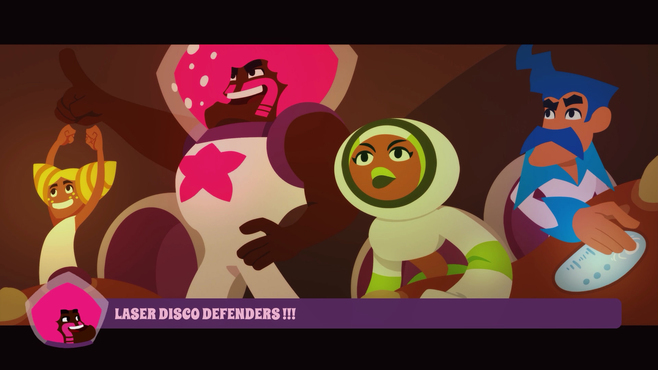 Laser Disco Defenders Screenshot 1