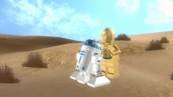 LEGO Star Wars : The Complete Saga Screenshot 2