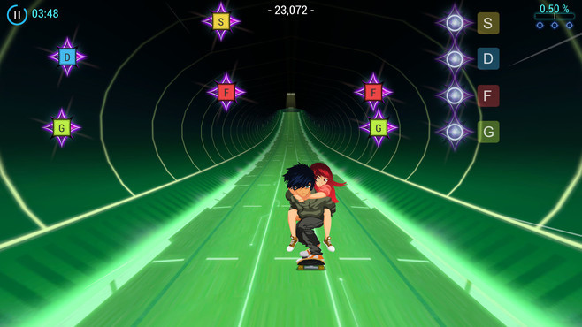 Lost in Harmony Screenshot 2