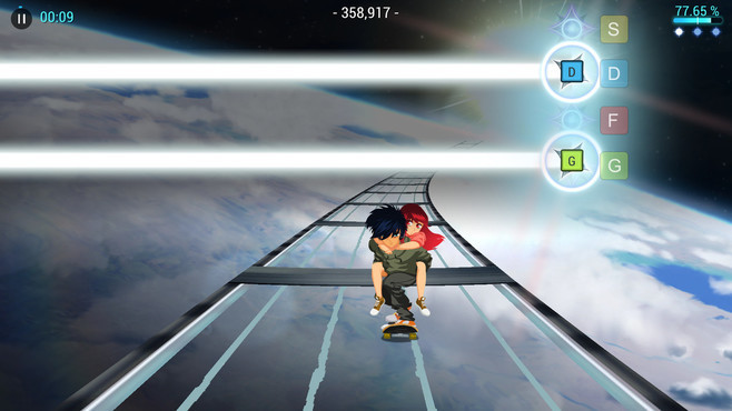 Lost in Harmony Screenshot 3