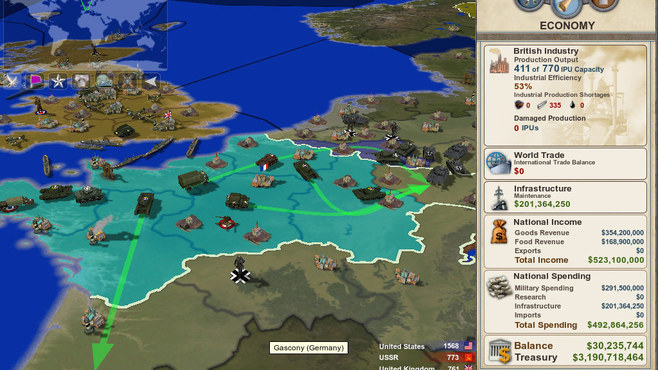 Making History: The Calm & the Storm Screenshot 3