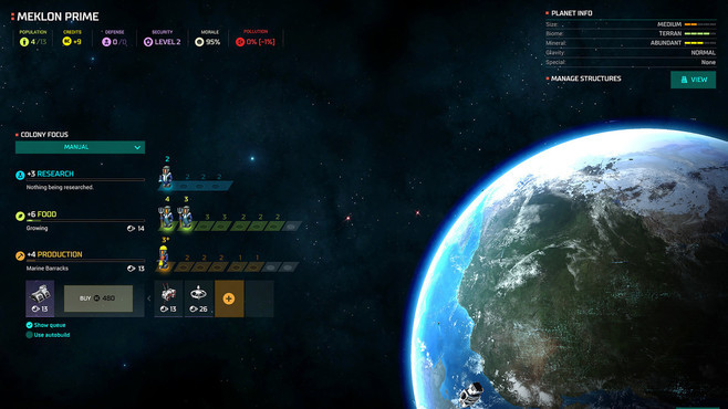 Master of Orion Screenshot 3