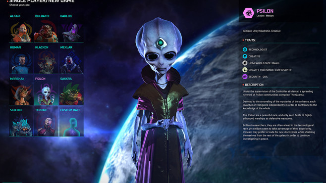 Master of Orion Collector's Edition Screenshot 2