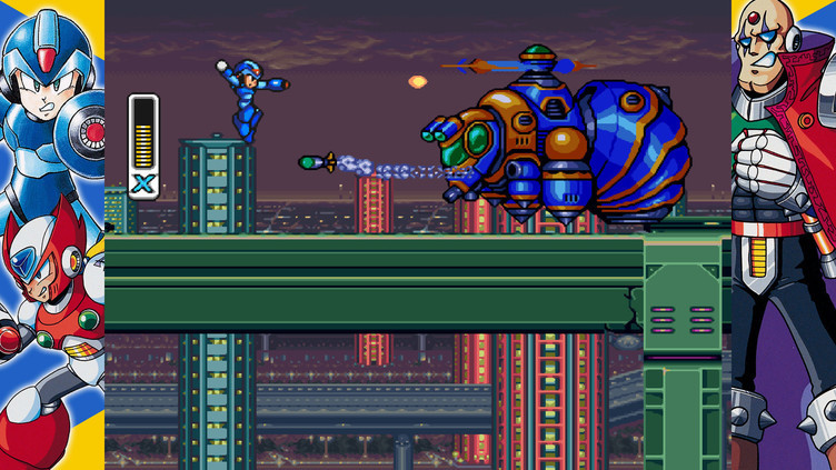 Mega Man X Legacy Collection Screenshot 5