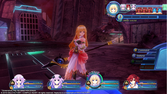 Megadimension Neptunia VII Weapon Pack Screenshot 2