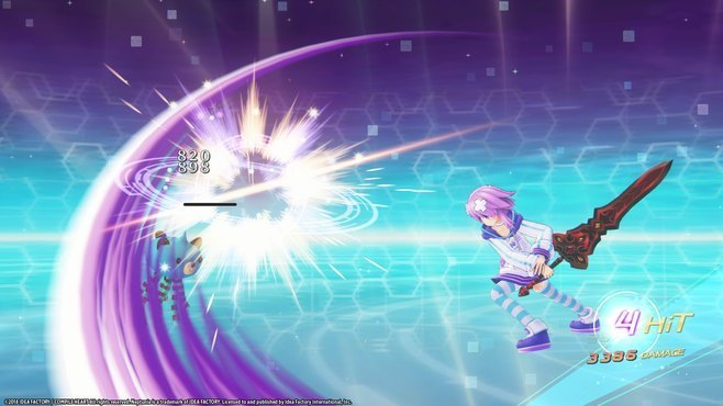 Megadimension Neptunia VIIR - 4 Goddesses Online Legendary Weapon Set Screenshot 4