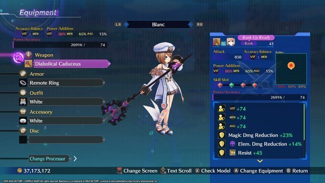 Megadimension Neptunia VIIR - 4 Goddesses Online Legendary Weapon Set Screenshot 5