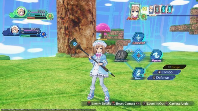 Megadimension Neptunia VIIR - 4 Goddesses Online Magician Weapon Set Screenshot 4