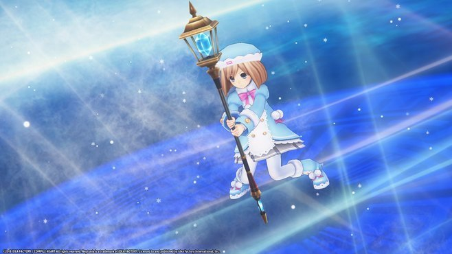 Megadimension Neptunia VIIR - 4 Goddesses Online Magician Weapon Set Screenshot 6
