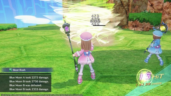 Megadimension Neptunia VIIR - 4 Goddesses Online Magician Weapon Set Screenshot 7