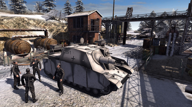 Men of War: Assault Squad 2 - Ostfront Veteranen Screenshot 1