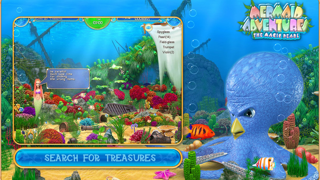 Mermaid Adventures: The Magic Pearl Screenshot 2