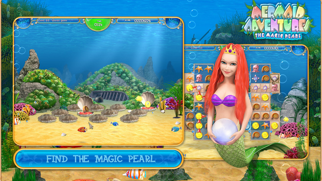 Mermaid Adventures: The Magic Pearl Screenshot 3