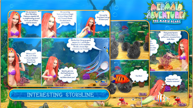 Mermaid Adventures: The Magic Pearl Screenshot 4