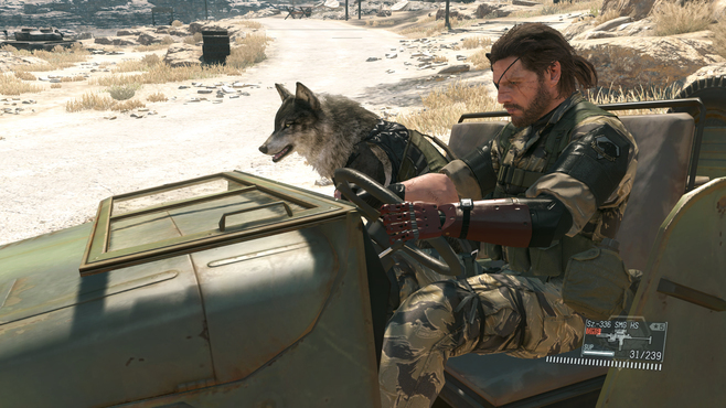 METAL GEAR SOLID V: THE PHANTOM PAIN Screenshot 3
