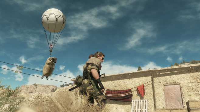 METAL GEAR SOLID V: THE PHANTOM PAIN Screenshot 4