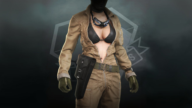 METAL GEAR SOLID V: THE PHANTOM PAIN - Jumpsuit (EVA) Screenshot 1