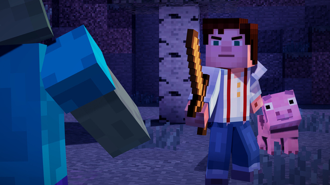 Minecraft: Story Mode - A Telltale Games Series Screenshot 3