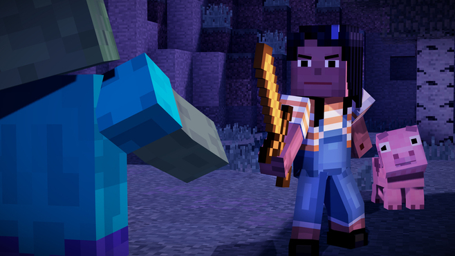 Minecraft: Story Mode - A Telltale Games Series Screenshot 10