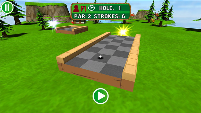 Mini Golf Mundo Screenshot 3