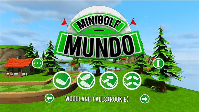 Mini Golf Mundo Screenshot 1