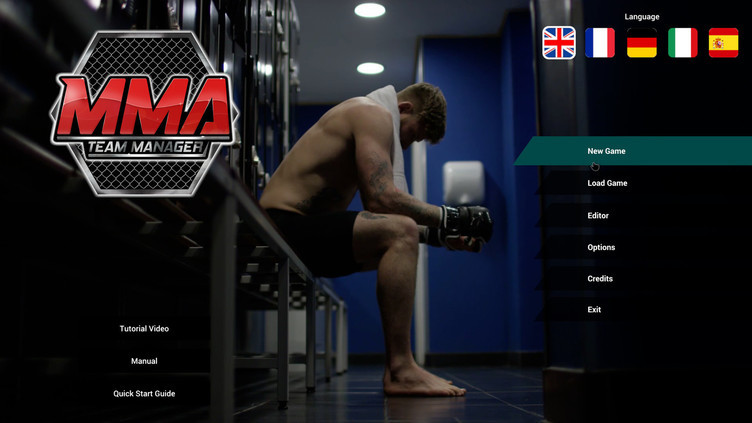 MMA Team Manager Screenshot 2