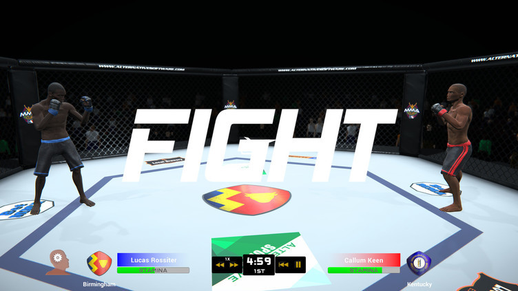 MMA Team Manager Screenshot 4