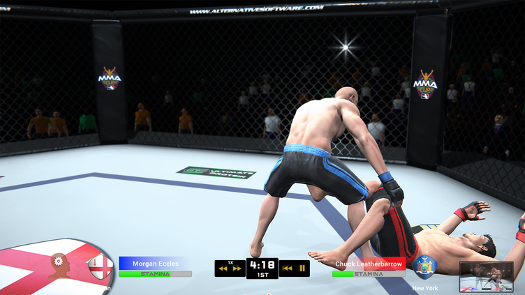 MMA Team Manager Screenshot 6