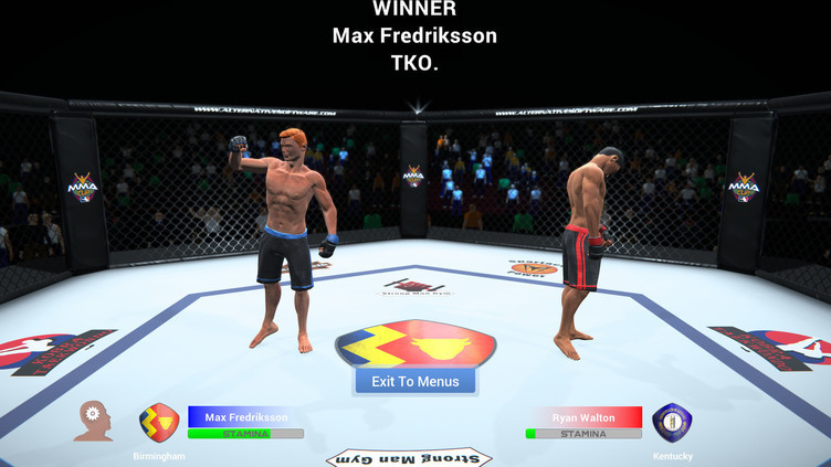 MMA Team Manager Screenshot 10